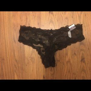 Cacique cheeky heart panties size 12, brand new